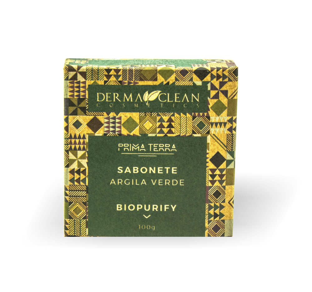 Sabonete de Argila Verde 100 g Dermaclean