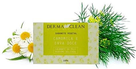 Sabonete de Camomila e Erva Doce 100 g Dermaclean