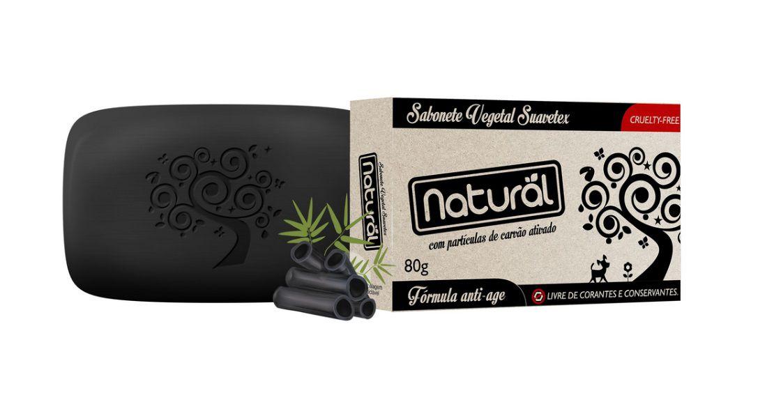 Sabonete de Carvão Ativado Orgânico Natural