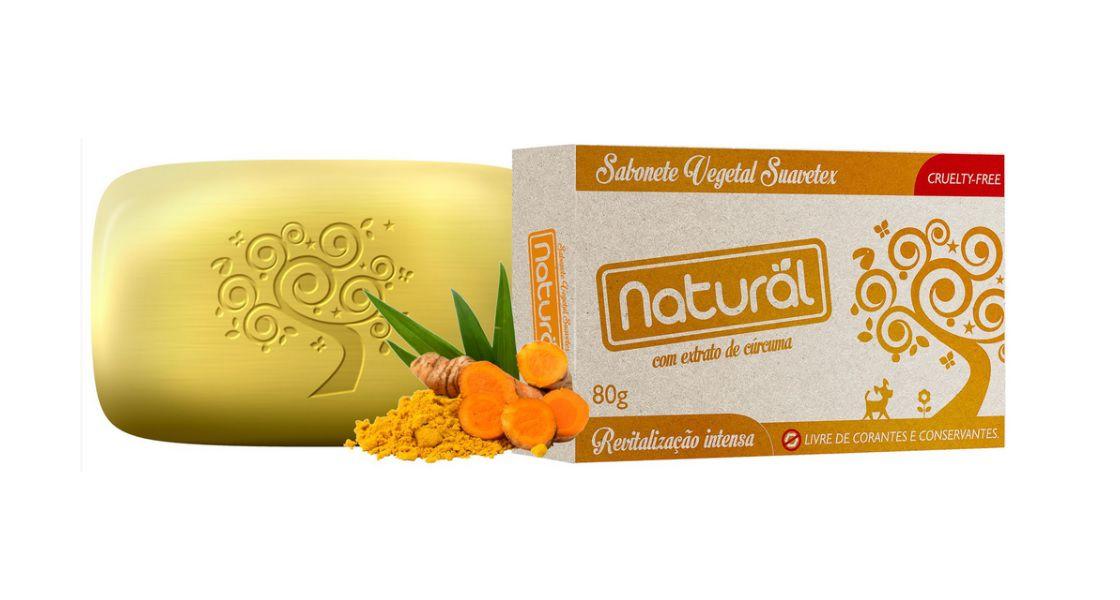 Sabonete de Cúrcuma Orgânico Natural