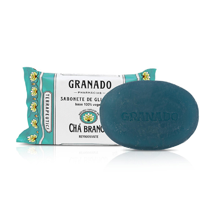 Sabonete de Glicerina Chá Branco Granado 90 g