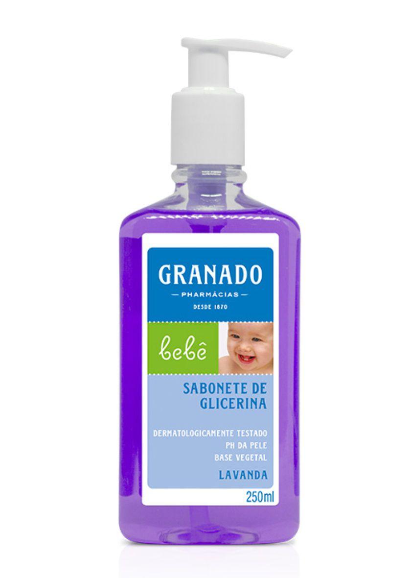 Sabonete Líquido de Glicerina Bebê Lavanda Granado 250 ml