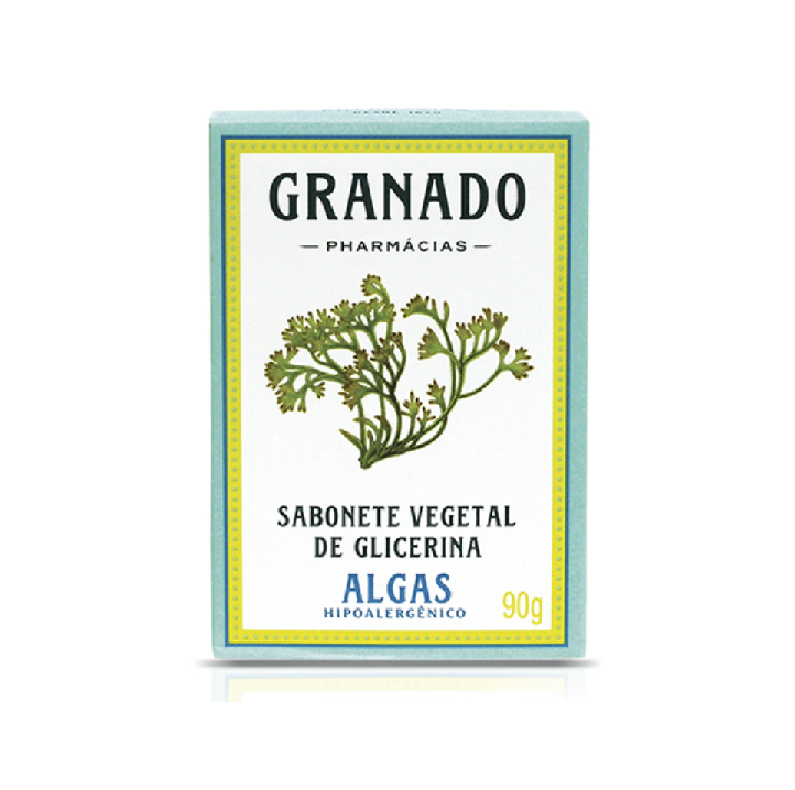 Sabonete Vegetal de Glicerina Algas Granado 90 g