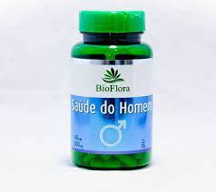 Saúde do Homem 500 mg 60 Capsulas Bioflora