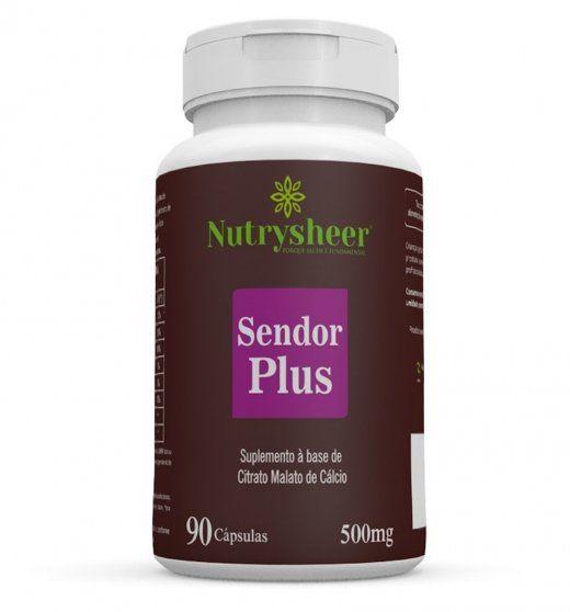 Sendor Plus 500mg 90 cápsulas Nutrysheer - SAIU DE LINHA