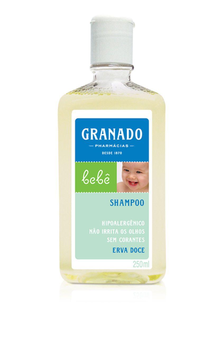 Shampoo Bebê Erva Doce Granado 250 ml