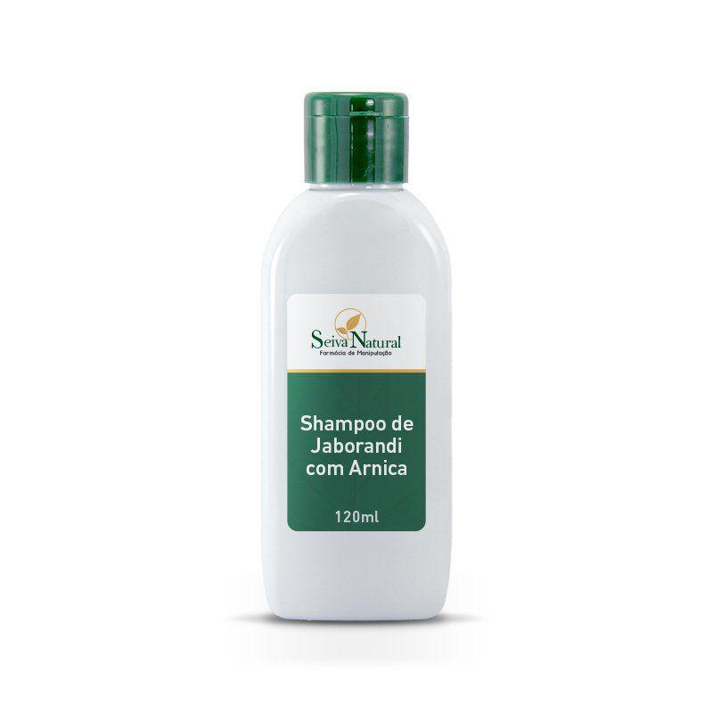 Shampoo de Jaborandi com Arnica 120 ml