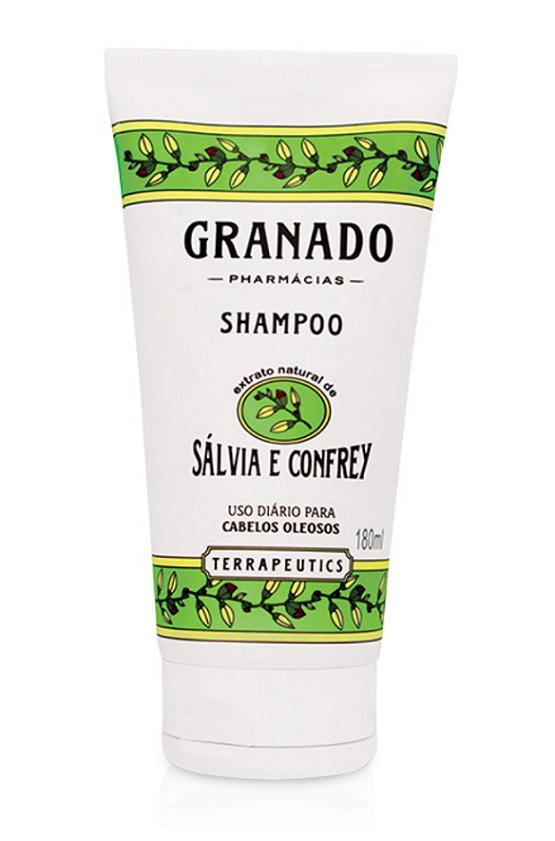 Shampoo Sálvia e Confrey Granado 180 ml
