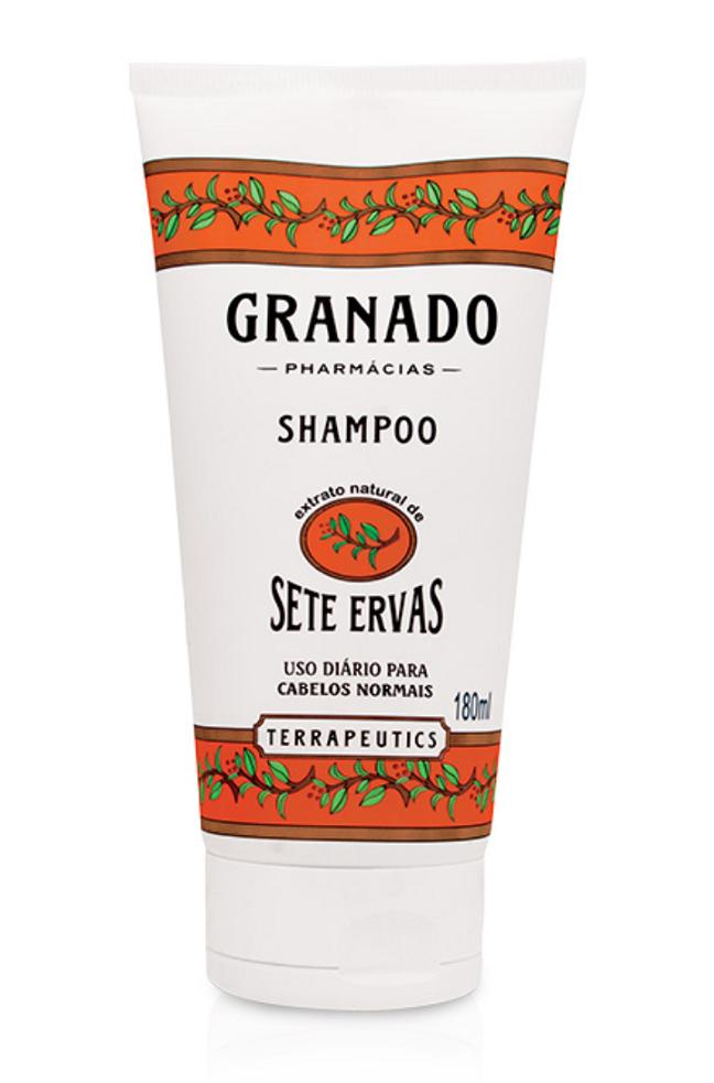 Shampoo Sete Ervas Granado 180 ml