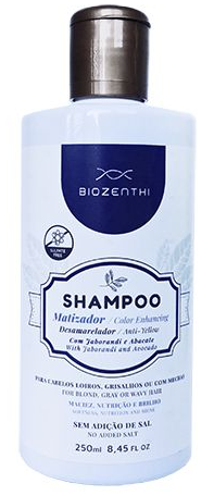 Shampoo Vegano Com Jaborandi e Abacate (Matizador Desamarelador) 250 ml