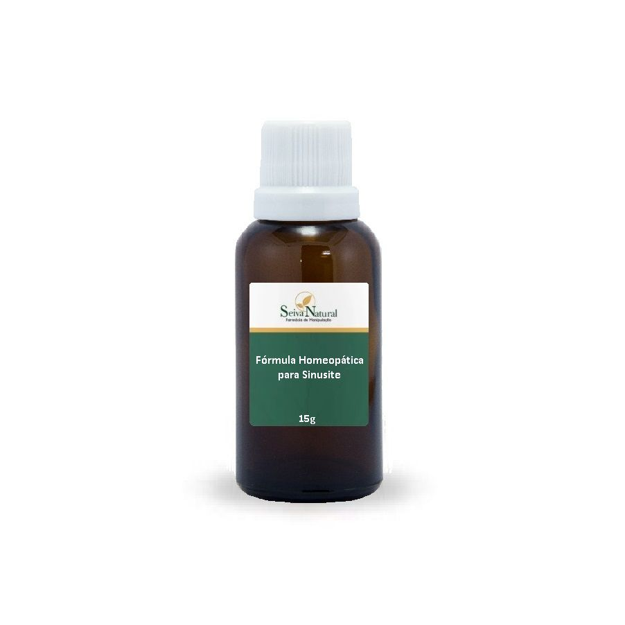 Sinusite Fórmula Homeopática 15 g