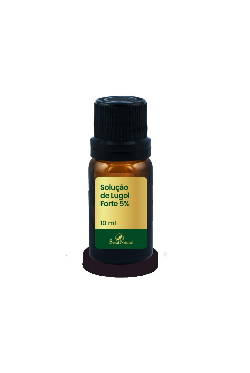 Solução de Lugol Forte 5 % 10 ml