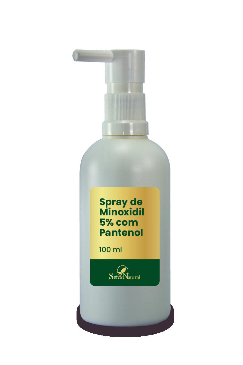 Minoxidil Seiva Spray 5% com Pantenol 100 ml