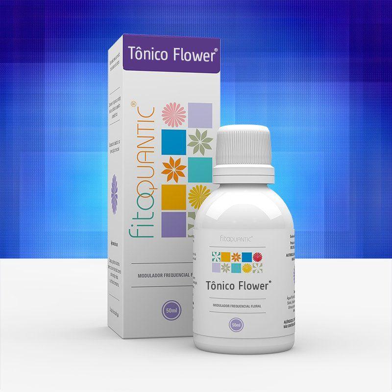 Tônico Flower 50 ml Fitoquantic Fisioquantic