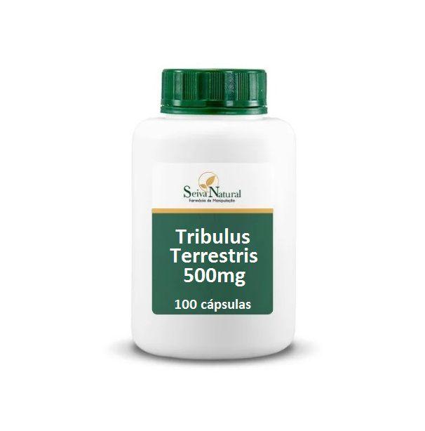 Tribulus Terrestris 500 mg 100 Cápsulas