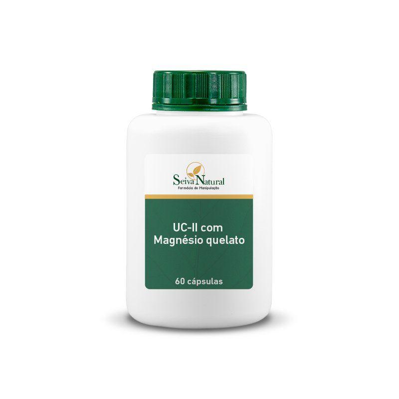 UCII com Magnésio Quelato 60 Cápsulas