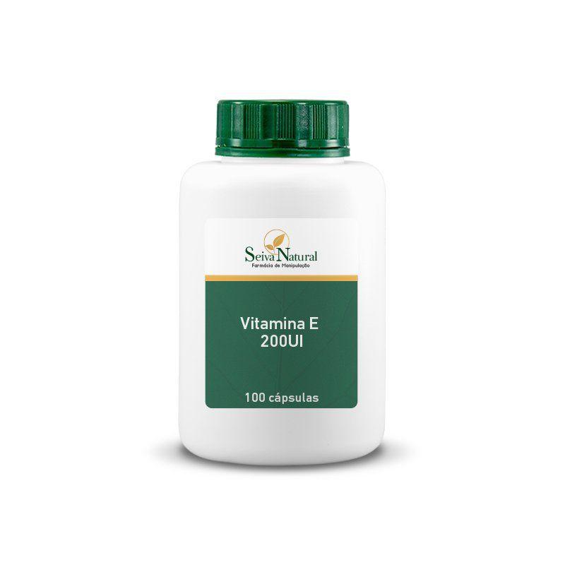 Vitamina E 200UI 100 Cápsulas