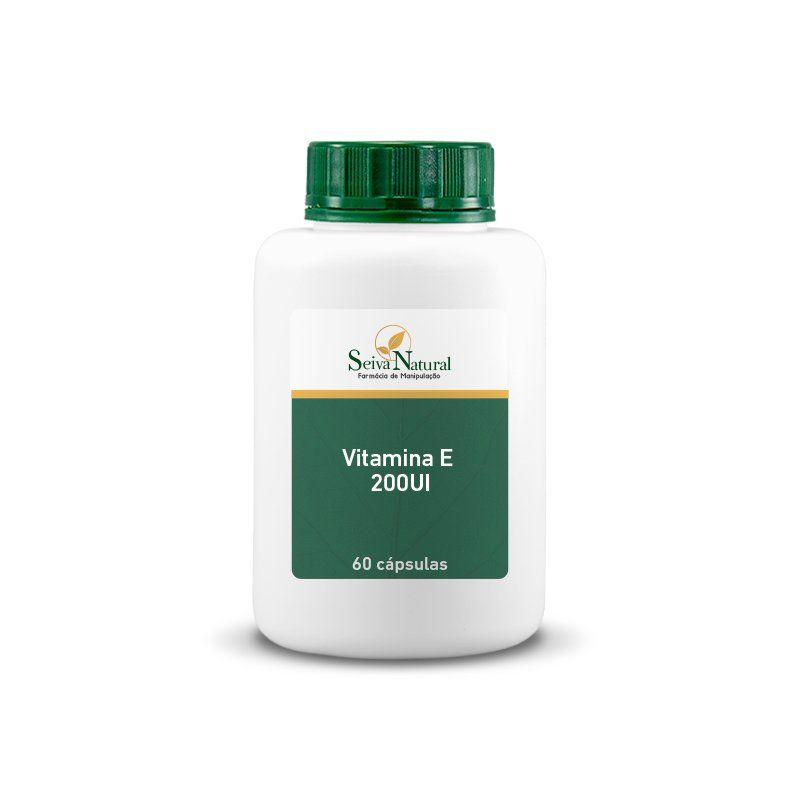 Vitamina E 200UI 60 Cápsulas