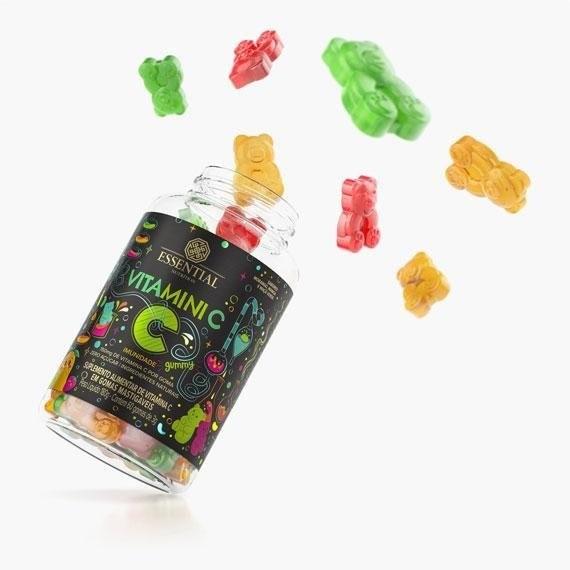 Vitamini C Gummy Essential 60 Gomas