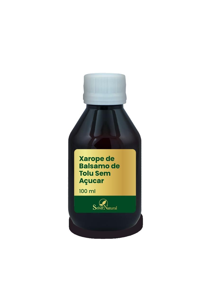 Xarope de Balsamo de Tolu 100 ml Sem Açucar