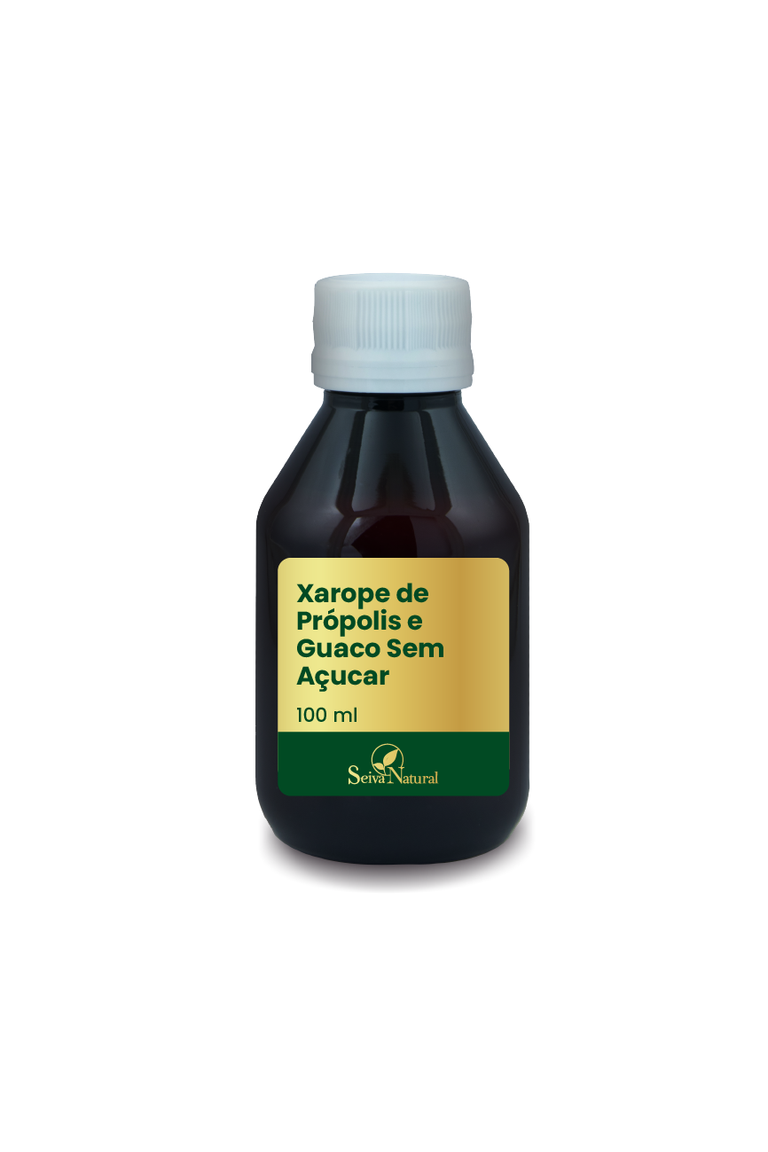 Xarope de Própolis e Guaco 100 ml Sem Açucar