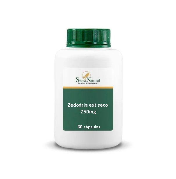 Zedoária Extrato Seco 250 mg