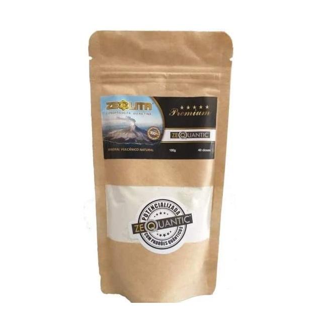 Zeólita Premium 100 g 40 doses Zeoquantic