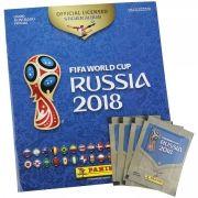 Álbum de Figurinhas: Copa do Mundo Rússia 2018 (Álbum + 60 Figurinhas) - Panini