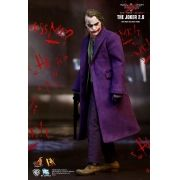 Boneco Joker 2.0 (Coringa): Batman The Dark Knight (DX11) Escala 1/6 - Hot Toys