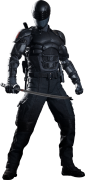 Boneco Snake Eyes: G.I. Joe Retaliação (G.I. Joe Retaliation) Escala 1/6 (MMS192) - Hot Toys - CG