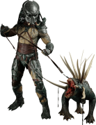 Boneco Tracker Predator (Predador): Predadores (Predators) Escala 1/6 (MMS147) - Hot Toys - CG