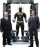 Bonecos Bruce Wayne & Alfred (Batman Armory): Batman: O Cavaleiro das Trevas (The Dark Knight) Escala 1/6 (MMS236) - Hot Toys