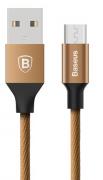 Cabo micro USB 1,5 m - Marrom