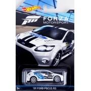 Carrinho Hot Wheels: '09 Ford Focus RS: Forza Motorsport Branco
