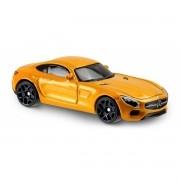 Carrinho Hot Wheels: '15 Mercedes-AMG GT Amarelo