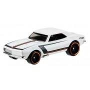 Carrinho Hot Wheels: '67 Camaro Branco - Mattel