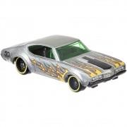 Carrinho Hot Wheels: `68 Olds 442 (Zamac) - Mattel