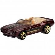 Carrinho Hot Wheels: '69 Camaro Convertible Marrom - Mattel
