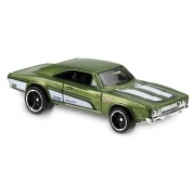 Carrinho Hot Wheels: '69 Dodge Charger 500 Verde - Mattel