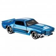 Carrinho Hot Wheels: '70 Chevy Camaro Azul - Mattel