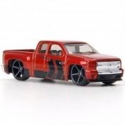 Carrinho Hot Wheels: Chevy Silverado Vermelho - Mattel
