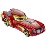 Carrinho Hot Wheels: Homem de Ferro (Iron Man) - Mattel