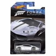 Carrinho Hot Wheels: Lamborghini Huracán LP 610-4: Forza Motorsport Branco