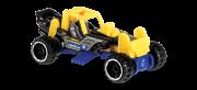 Carrinho Hot Wheels Mountain Mauler (H7PZR) - Mattel