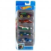 Carrinho Hot Wheels (Set com 5 Carros) Street Beasts (FKT51) - Mattel