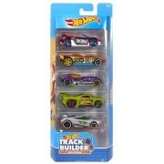 Carrinho Hot Wheels (Set com 5 Carros) Track Builder System (DVF97) - Mattel