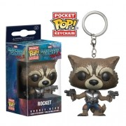 Pocket Pop Keychains (Chaveiro) Rocket Raccoon: Guardiões da Galáxia Vol.2 - Funko