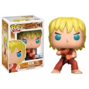 Pop Ken (Posição de Ataque): Street Fighter Exclusivo #193 - Funko