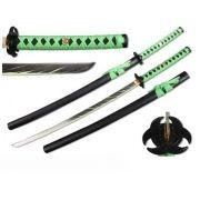 Espada Katana Neon Green Zombie War