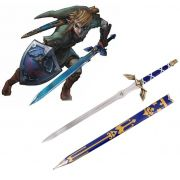 Espada Link (Master Sword) Azul: The Legend of Zelda (125cm)